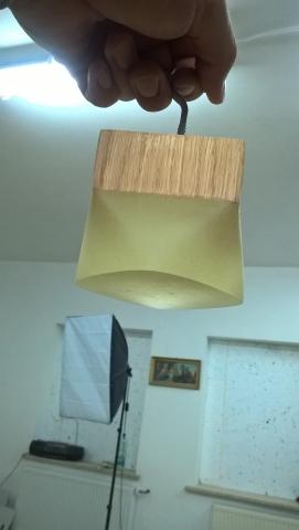 Można zrobić lampkę
