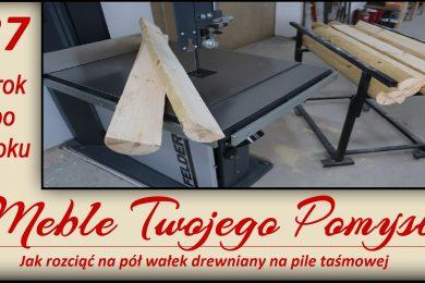 wałki drewniane, palisada, półwałki ćwierć wałek. felder, festool, dewalt, stanley, piła tasmowa, FB 610