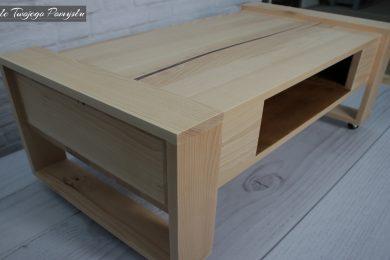 kółka, drewno, stolik, szuflada, surowe, klejonka, blog, ściski, dłuta, strugi, prasa, klejenie, wióry,,. galeria, zdjęcia, mebel, dom, diy, opinia, meble twojego pomysłu