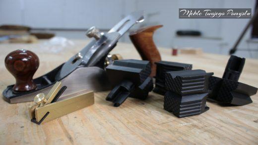 Mini strug kątnik czołowy, imaki do stołu stolarskiego