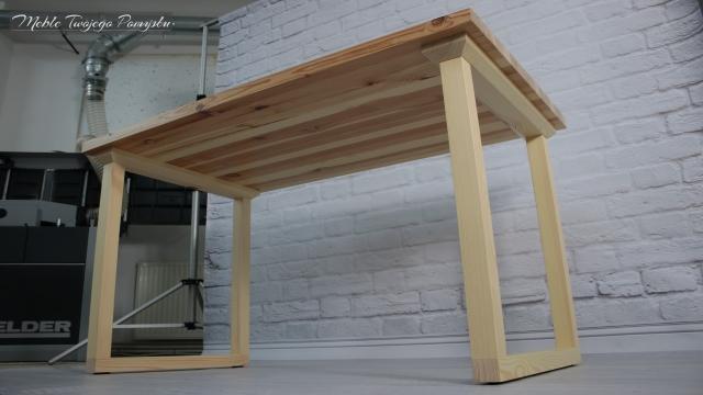 Renowacja starego stolika kawowego wyrówniarko grubościówka Felder AD741