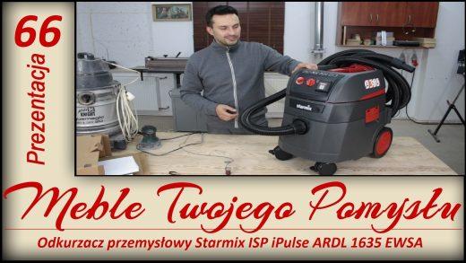 Odkurzacz przemysłowy Starmix ISP iPulse ARDL 1635 EWSA