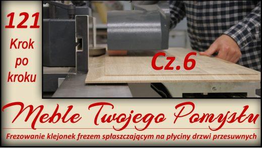 Projekt - Dębowe drzwi przesuwne do garderoby Cz. 6, Odcinek 121 - Cz.6 Frezowanie klejonek frezem spłaszczającym na płycin drzwi przesuwne - krok po kroku / Milling of presses with a flattening mill on sliding panels - step by step, multiprzykładnica,płycina,klejonka,spłaszczający,gradacja,przykładnica,posuw rolkowy,frezarka,zbiór,szlifierka długo tasmowa,frezy,k690s,meble twojego pomysłu,drzwi przesówne,jak działa,stolarstwo,drewno,stolarnia,warsztat,felder,jak zrobić,meble,wood,woodworking,jak wykonać,how to make,krok po kroku,f700z,darek stolarz,laguna,sevroll,techniaka,frez,profil,kontr profil,dolnowrzecionowa,hammer,ustawienia frezu,posuw do frezarki,głowica frezarska,garderoba,szafa,fs722