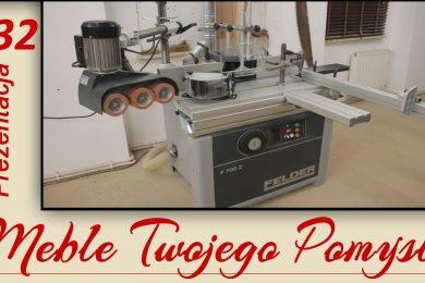 132 -Frezarka dolnowrzecionowa Felder F 700 Z - prezentacja obrabiarki do drewna / spindle moulder, meble twojego pomysłu,mebletwojegopomyslu.pl,MTP,stolarstwo,drewno,wood,woodworking,polish,stolarz,stolarnia,poradnik,carpenter,warsztat,pracownia,Adam Słodowy,youtube,Darek stolarz,Do It Yourself,Festool,zrób to sam,jak zbudować,how make,how to,felder,hammer,krok po kroku,frezarka,dolnowrzecionowa,multi przykładnica,frezy,x-roll,Easy-Glide,Power-Drive,przechył wrzeciona,cnc,widlice,czopy,obrabiarka,f700z,blat żeliwny,stół formatowy,obrabiarka,prezentacja,przystawki