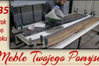 135 - Cz.3 Jak zrobić formę do zalewania, mieszanie żywicy z pigmentem i zalewanie drewna, rzeka żywicy,kanion z żywicy,żywica epoksydowa,meble twojego pomysłu,mebletwojegopomyslu.pl,stolarstwo,drewno,wood,stolarz,poradnik,carpenter,warsztat,youtube,DIY,jak zrobić,zrób to sam,jak wykonać,how make,samemu,how to,felder,hammer,krok po kroku,zalewanie,epidian,deco,wwa resoltech,czarny dąb,stół,szlifowanie,jak zalać,epoxy,epoxy table,ciech,kopacki,Capitol Coatings,CRYSTALLINE,jak mieszać,żywica,proporcje,aceton,sylikon,laminat,płyta,forma do zalewania,k690