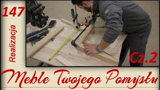 Cz. 2 - Cięcie na wymiar jesionowych nóg na krzesła za pomocą szablonów i klejenie / wooden chair, mebletwojegopomyslu.pl,meble twojego pomysłu,MTP,stolarstwo,drewno,wood,woodworking,stolarz,stolarnia,poradnik,carpenter,warsztat,DIY,Do It Yourself,triton,Festool,jak zrobić,zrób to sam,jak wykonać,how make,samemu,how to,dom,felder,hammer,krok po kroku,frezarka,dolnowrzecionowa,f700z,fb610,szablon do frezowania,krzesła,jak zrobić krzesła,jesion,ash,chair,wolfcraft,kleiberit,df500,domino,szablon do cięcia,fat300,k690s,piła,frez do felcowania,nogi krzesła,cięcie,woodwork