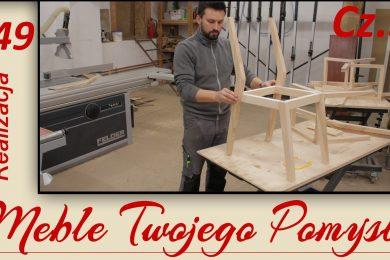 Cz.3 - Jak zrobić drewniane krzesło, zacinanie tylnych nóg i klejenie ramy, szlifowanie wooden chair, zacinanie,nogi krzesła,klejenie ramy,drewniane krzesło,dłuta narex,kleiberit,fat300,wpust,ramiak,trasowanie,wolfcraft,strug wyżłabiak,k690s,felder,df500,domino,triton,ściski śrubowe,bessey,gradacja,carpenter,meble twojego pomysłu,chair,diy,do it yourself,dom,drewno,festool,how make,how to,jak wykonać,jak zrobić,jesion,krok po kroku,krzesła,mebletwojegopomyslu.pl,piła,poradnik,samemu,stolarnia,stolarstwo,Stolarz,warsztat,wood,woodwork,woodworking,zrób to sam,szlifierka