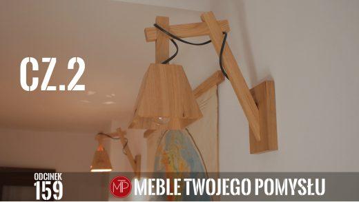 Odcinek 159 - Cz 2, Jak zrobić dębowe kinkiety, lampy na ścianę, łączenie wszystkich elementów / wall sconces, klin,fiddes,olejowosk,piła,k690s,kleiberit,triton,przykładnica,lampy,kinkiety,lampy ścienne,kinkiety drewniane,dąb,drewno,ad741,klosz z drewna,mebletwojegopomysłu,mebletwojegopomyslu.pl,meble twojego pomysłu,wood,diy,felder,woodworking,carpenter,do it yourself,how make,how to,jak wykonać,jak zrobić,woodwork,zrób to sam,woodstyle,dom,salon,korytarz,oświetlenie,oświetlenie na ścianę,art,wiertła forstnera,oprawa żarówki,wyżłabiak,strug,wpust,połączenie kątowe krzyżowe
