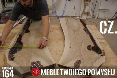Odcinek 164 - Cz.1 Stolik kawowy z orzecha, wypełnienie ubytków żywicą epoksydową / Walnut coffee table, filling cavities with epoxy resin, mebletwojegopomyslu,mtp,wood,woodworking,tools,żywica epoksydowa,orzech,deski,epoxy,coffee table,stolik kawowy,diy,jak zrobić,k690s,meble twojego pomysłu,drewno,ad741,felder,carpenter,do it yourself,how make,how to,jak wykonać,zrób to sam,woodstyle,dom,salon,diy ideas,home,hammer,drewniane projekty,meble,lite meble,prace w drewnie,pomysł na,prace ręczne,stolarskie triki,hobby,pasja,fs722,epidian,wwa resoltech,ciech,prasa stolarska,kleiberit,domino,df500