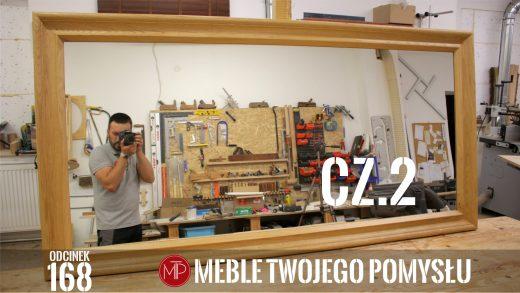 Odcinek 168 - Cz.2 Zacinanie i łączenie frezowanej dębowej ramy, montaż lustra i olejowanie / Jamming and joining of milled oak frame, mirror assembly and oiling, felder,k690s,rama lustra,lustro,mebletwojegopomyslu,mtp,wood,woodworking,diy,jak zrobić,meble twojego pomysłu,drewno,carpenter,do it yourself,how make,how to,jak wykonać,zrób to sam,woodstyle,dom,diy ideas,home,hammer,drewniane projekty,lite meble,prace w drewnie,pomysł na,prace ręczne,stolarskie triki,hobby,pasja,mirror,mirror frame,frezowana rama lustra,olejowosk fiddes,forstnera,wolfcraft,kleiberit,haki,zaczepy,dłuto,strug,tarcza do cięcia,montaż,frezarka