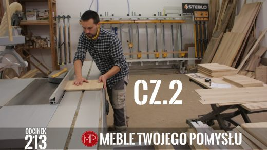 Odcinek 213 - Cz.2 Dębowa szafka nocna z szufladą – klejenie płycin, frezowanie i zacinanie boków pod łączenia , Oak bedside table with a drawer - gluing panels, milling and cutting the sides for joints, mebletwojegopomyslu,mtp,wood,woodworking,diy,jak zrobić,k690s,meble twojego pomysłu,drewno,felder,carpenter,do it yourself,how make,how to,jak wykonać,zrób to sam,woodstyle,dom,diy ideas,home,hammer,drewniane projekty,meble,lite meble,prace w drewnie,stolarskie triki,kleiberit,domino,df500,klejonka,szuflada,diy projects,zacinanie,triton,płycina,plecy szafki,szuflady,festool,prowadnice szuflad,piła taśmowa,fb610,rowki pod plecy,szafka nocna,dąb,tarcza tnąca
