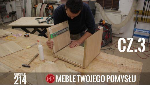 Odcinek 214 - cz. 3 Dębowa szafka nocna z szufladą – sklejanie szuflad i korpusów, nacinanie rowków pod płyciny , Oak bedside table with a drawer - gluing drawers and bodies, cutting grooves for panels, mebletwojegopomyslu,mtp,wood,woodworking,diy,jak zrobić,k690s,meble twojego pomysłu,drewno,felder,carpenter,do it yourself,how make,how to,jak wykonać,zrób to sam,woodstyle,dom,diy ideas,home,hammer,drewniane projekty,lite meble,prace w drewnie,kleiberit,domino,df500,klejonka,szuflada,diy projects,zacinanie,triton,płycina,plecy szafki,festool,rowki pod plecy,szafka nocna,dąb,steblo,wolfcraft,ad741,wyrówniarka,ks150,szlifierka krawędziowa,korpus,prowadnice,dłuto