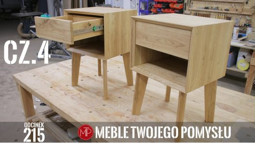 Odcinek 215 - Cz.4 Dębowa szafka nocna z szufladą –montaż frontu, frezowanych nóg i zabezpieczenie olejowoskiem , Oak bedside table with a drawer - front assembly, milled legs and oil-wax protection, mebletwojegopomyslu,mtp,wood,woodworking,diy,jak zrobić,k690s,meble twojego pomysłu,drewno,felder,carpenter,do it yourself,how make,how to,jak wykonać,zrób to sam,woodstyle,dom,diy ideas,home,hammer,drewniane projekty,lite meble,prace w drewnie,kleiberit,domino,df500,klejonka,szuflada,diy projects,zacinanie,płycina,plecy szafki,festool,szafka nocna,dąb,steblo,wolfcraft,ad741,wyrówniarka,korpus,prowadnice,dłuto,olejowosk,kemihal,drewniane nogi,frezarka,f700z,frez,wax