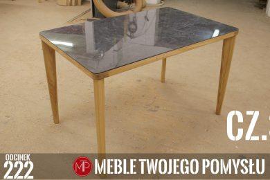 Odcinek 222 - cz.3 Dębowy stół do jadalni z płytką na blacie, klejenie płytki do ramy , Oak dining table with a tile on the top, gluing the tile to the frame, mebletwojegopomyslu,mtp,wood,woodworking,diy,jak zrobić,k690s,meble twojego pomysłu,drewno,felder,carpenter,do it yourself,how make,jak wykonać,zrób to sam,woodstyle,diy ideas,home,hammer,drewniane projekty,meble,lite meble,prace w drewnie,pomysł na,prace ręczne,stolarskie triki,domino,klejonka,diy projects,festool,dąb,steblo,blat z płytką,drewno i płytka,rama,nogi,ściski śrubowe,df500,kołki,kemichal,stół do jadalni,olejowosk,stół z płytką,blat z płytki