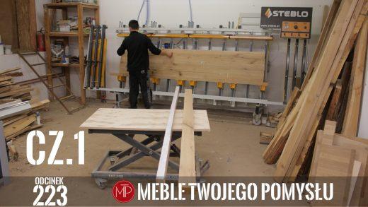 Odcinek 223 - cz.1 Lewitujące łóżko drewniane, dąb rustic, klejenie zagłowia wezgłowia i ramy , A levitating wooden bed, rustic oak, gluing the headboard and frame, mebletwojegopomyslu,mtp,wood,woodworking,diy,jak zrobić,k690s,meble twojego pomysłu,drewno,felder,carpenter,do it yourself,how make,jak wykonać,zrób to sam,woodstyle,diy ideas,hammer,drewniane projekty,meble,lite meble,prace w drewnie,pomysł na,prace ręczne,stolarskie triki,domino,klejonka,diy projects,dąb,steblo,rama,wezgłowie,zagłowie,łóżko,lewitujące łóżko,dąb rustic,sęki,sypialnia,materac,blat rustic,szafki nocne,stelaż do łóżka,prasa do klejenia,fryza