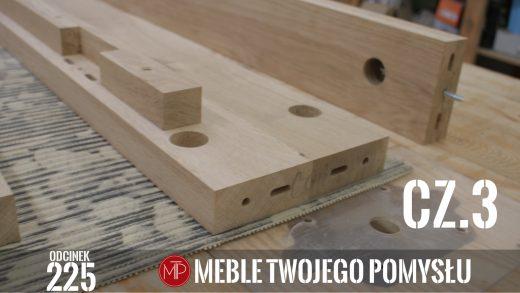 Odcinek 225 - cz.3 Lewitujące łóżko drewniane, dąb rustic, nawiercanie otworów na śruby, frezowanie i wykańczanie , Levitating wooden bed, rustic oak, drilling holes for screws, milling and finishing, mebletwojegopomyslu,mtp,wood,woodworking,diy,jak zrobić,k690s,meble twojego pomysłu,drewno,felder,carpenter,do it yourself,how make,jak wykonać,zrób to sam,woodstyle,diy ideas,hammer,drewniane projekty,meble,lite meble,prace w drewnie,pomysł na,prace ręczne,stolarskie triki,domino,klejonka,diy projects,dąb,steblo,rama,wezgłowie,zagłowie,łóżko,lewitujące łóżko,dąb rustic,sęki,sypialnia,materac,blat rustic,szafki nocne,stelaż do łóżka,fryza,kemichal,olejowosk