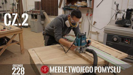 Odcinek 228 - Cz.2 Rozkładany stół z dostawkami dąb rustic, rozcinanie na fragmenty i frezowanie pod wzmocnienia , Extendable table with extensions rustic oak, cutting into fragments and milling for reinforcements, mebletwojegopomyslu,mtp,wood,woodworking,diy,jak zrobić,k690s,meble twojego pomysłu,drewno,felder,carpenter,do it yourself,how make,jak wykonać,zrób to sam,woodstyle,diy ideas,home,hammer,drewniane projekty,meble,lite meble,prace w drewnie,pomysł na,prace ręczne,klejonka,diy projects,dąb,steblo,blat,fat300,dostawki,dab rustic,rozkładany stół,nogi stalowe,klejenie,szpachlowanie,stół z dostawkami,ad741,blat z szeroką listwą,fs722,szlifierka taśmowa,salon,dom